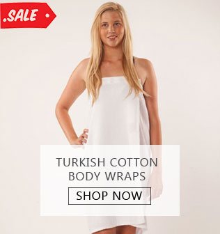 Turkish Cotton Body Wraps - SHOP NOW